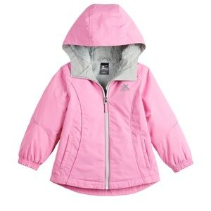 Girls pink winter jacket. Size 6/6X. NWT